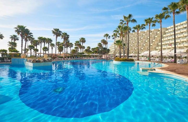 Hipotels Mediterraneo Hotel in Sa Coma, Majorca, Balearic Islands
