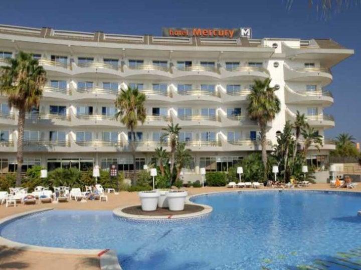 Mercury Hotel in Santa Susanna, Costa Brava, Spain