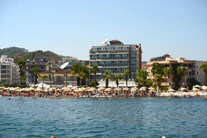 Maris Beach Hotel in Marmaris, Dalaman, Turkey