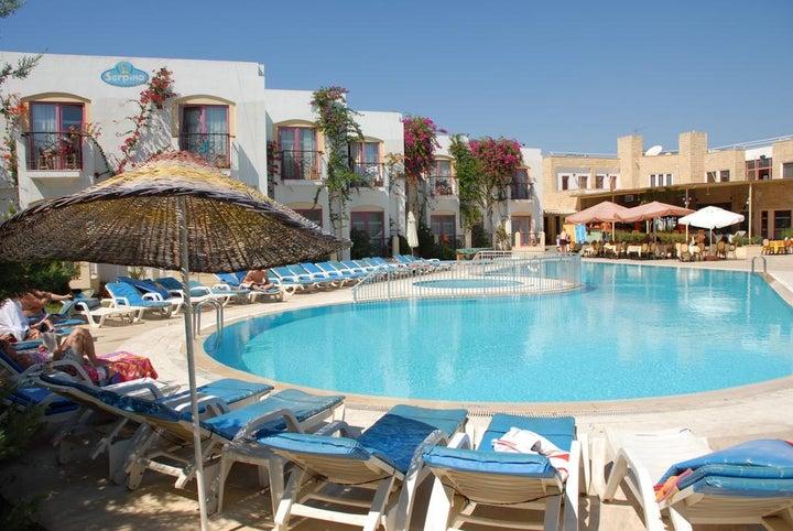 Serpina Hotel in Gumbet, Aegean Coast, Turkey