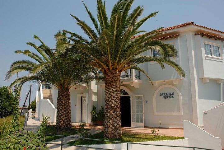 Paradise Hotel Zth in Tsilivi, Zante, Greek Islands