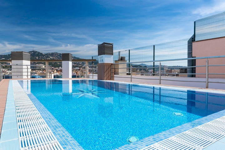 Apartments Blau in Lloret de Mar, Costa Brava, Spain