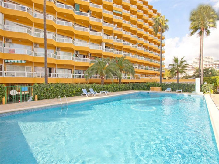 Las Palomas Apartments in Palma Nova, Majorca, Balearic Islands