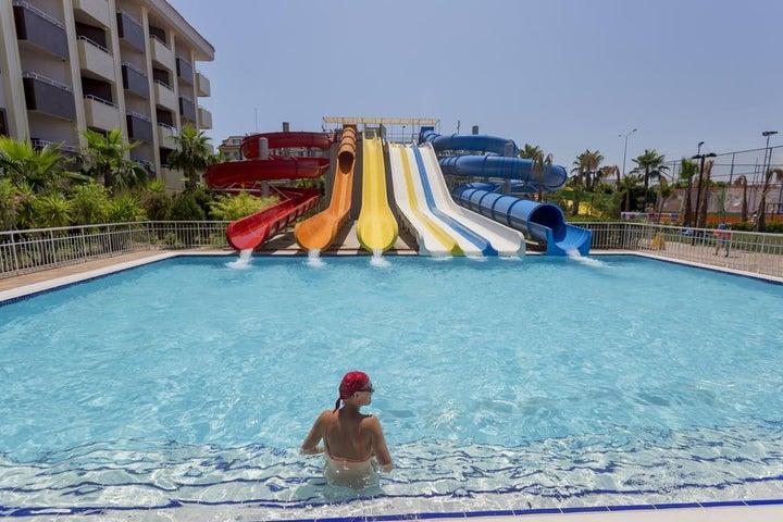 Hane Family Resort Hotel in Side, Antalya, Turkey