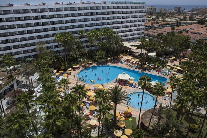 Eugenia Victoria Hotel in Playa del Ingles, Gran Canaria, Canary Islands