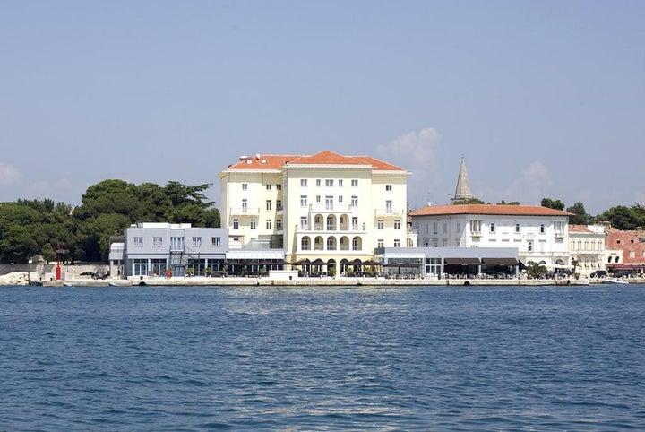 Grand Hotel Palazzo in Porec, Istrian Riviera, Croatia