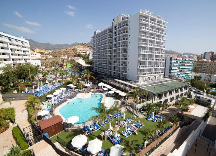 Los Patos Park Hotel in Benalmadena, Costa del Sol, Spain