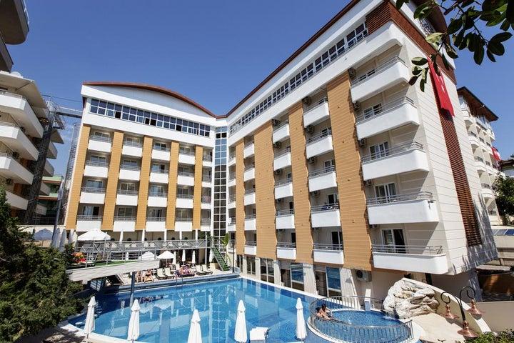 Alaiye Kleopatra Hotel in Alanya, Antalya, Turkey
