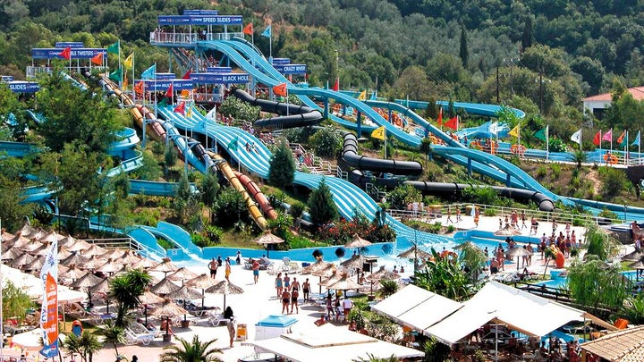 Aqualand Resort in Aghios Ioannis, Corfu, Greek Islands
