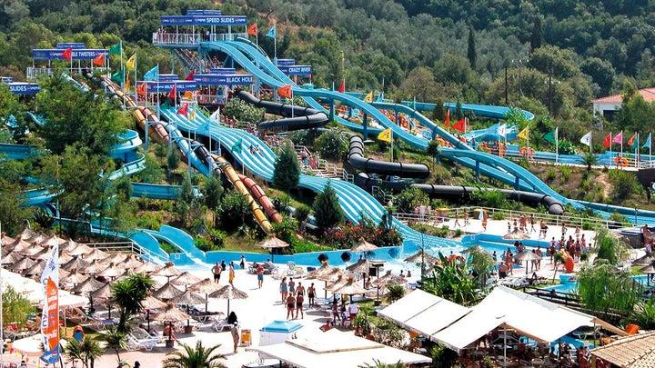 Aqualand Resort in Aghios Ioannis, Corfu, Greek Islands