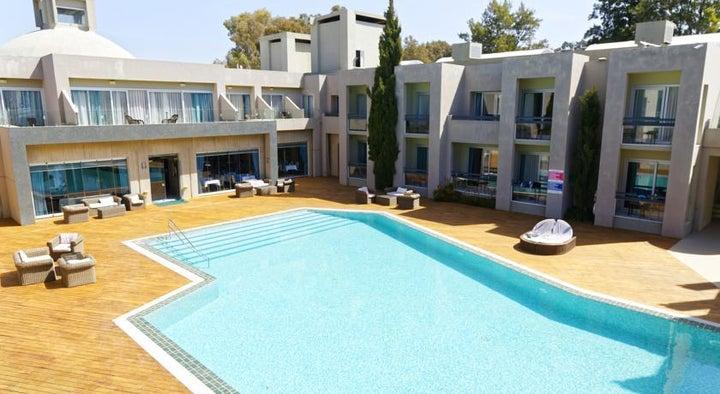 Ambrosia Hotel in Bitez, Aegean Coast, Turkey