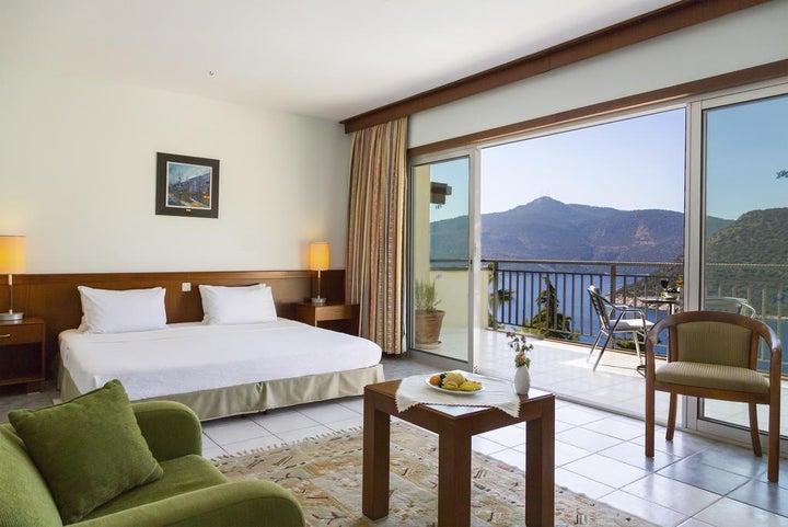 Happy Hotel Kalkan in Kalkan, Antalya, Turkey