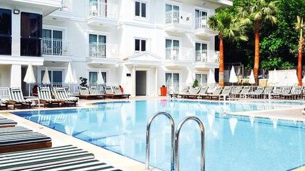Montebello Deluxe Hotel in Olu Deniz, Dalaman, Turkey