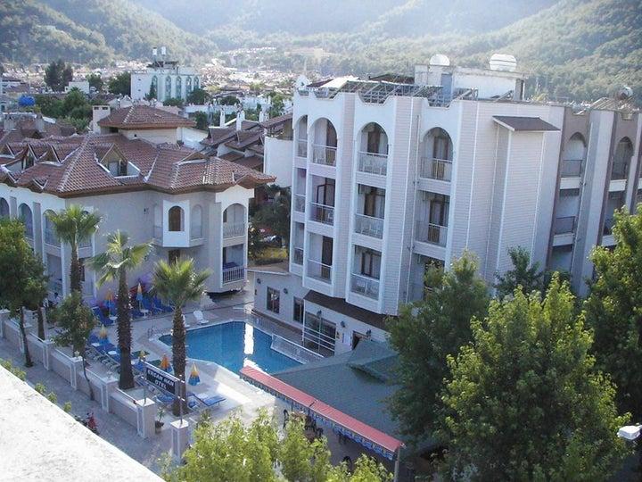 Image result for ercanhan hotel icmeler