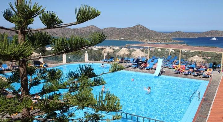 Elounda Water Park Residence Hotel in Elounda, Crete, Greek Islands