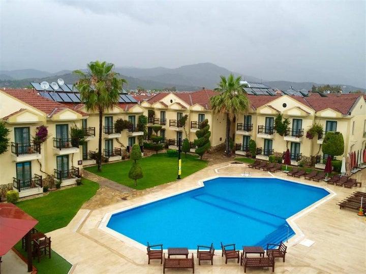 Harman Hotel in Calis Beach, Dalaman, Turkey