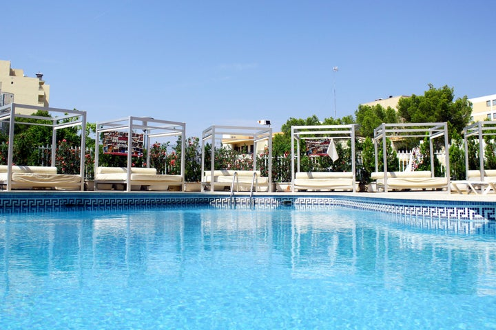 Lively Magaluf in Magaluf, Majorca, Balearic Islands
