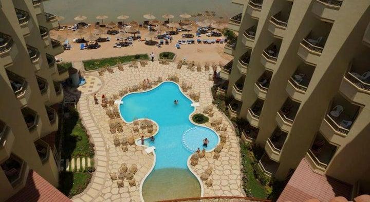 Magic Beach Hotel in Hurghada, Red Sea, Egypt