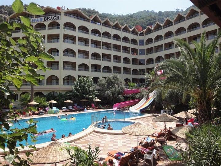 Golmar Beach Hotel in Icmeler, Dalaman, Turkey