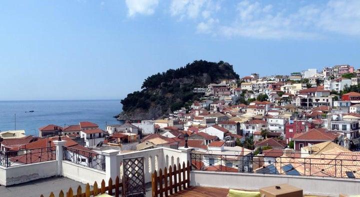 San Nectarios Hotel , Parga, Greece