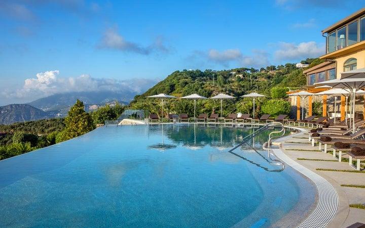 Due Golfi Grand Hotel in Massa Lubrense, Neapolitan Riviera, Italy