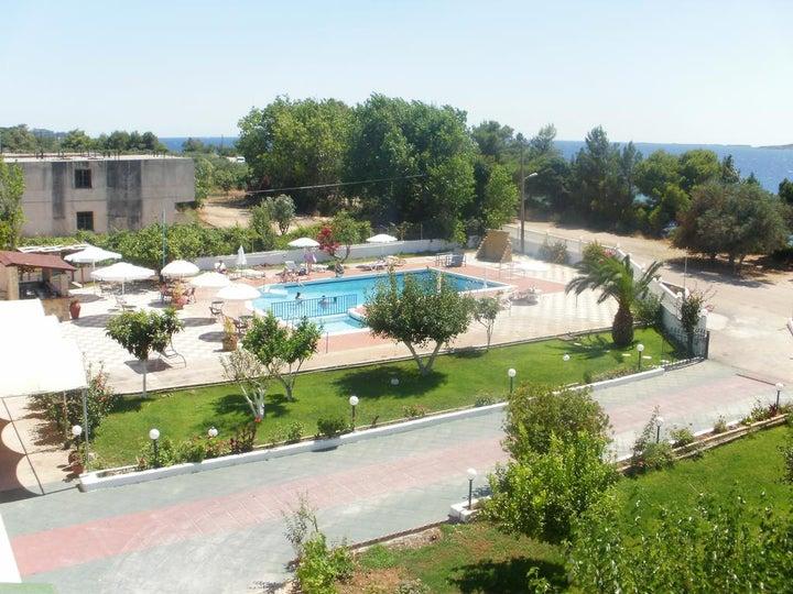 Galaxy Hotel in Argostoli, Kefalonia, Greek Islands