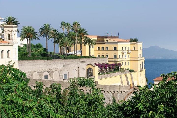 Grand Hotel Angiolieri in Vico Equense, Neapolitan Riviera, Italy