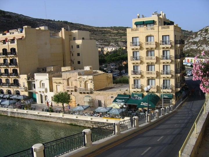 San Andrea Hotel in Xlendi, Gozo, Malta