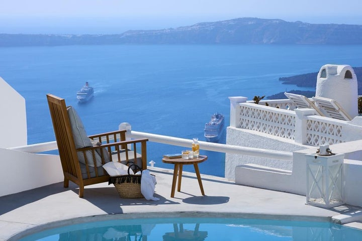 Senses Boutique Hotel in Imerovigli, Santorini, Greek Islands