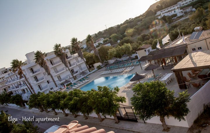 Elga Apartments in Kardamena, Kos, Greek Islands