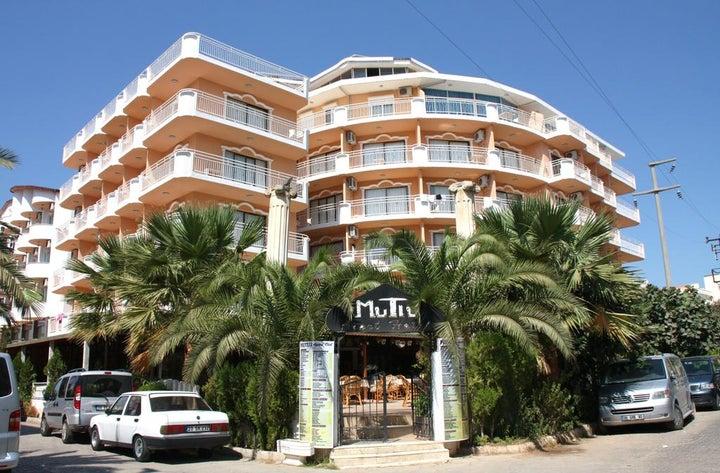 Mutlu Apartments Hotel in Didim, Aegean Coast, Turkey