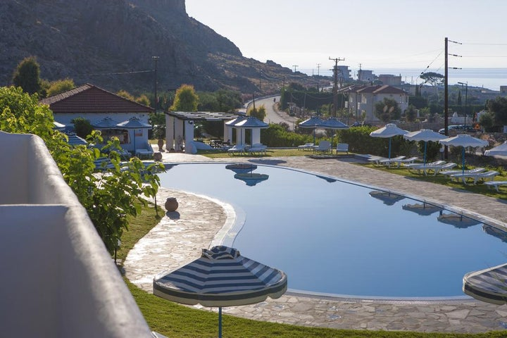 Lindos Sun Hotel in Lindos, Rhodes, Greek Islands