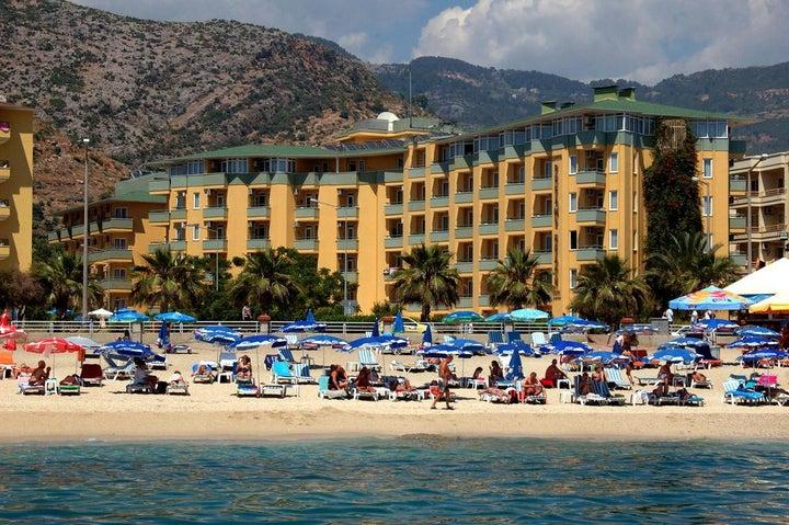 Kleopatra Dreams Beach Hotel in Alanya, Antalya, Turkey