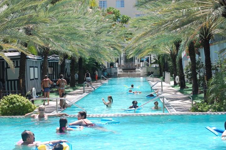 National Hotel Miami South Beach in Miami Beach, Florida, USA