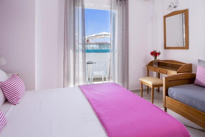 Santellini Hotel in Kamari, Santorini, Greek Islands