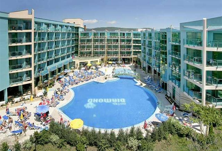 Diamond Hotel in Sunny Beach, Bulgaria