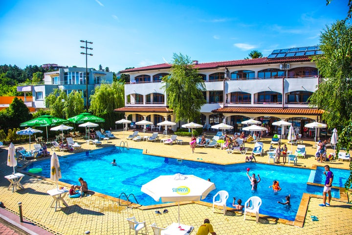 Sunrise Complex in Sunny Beach, Bulgaria