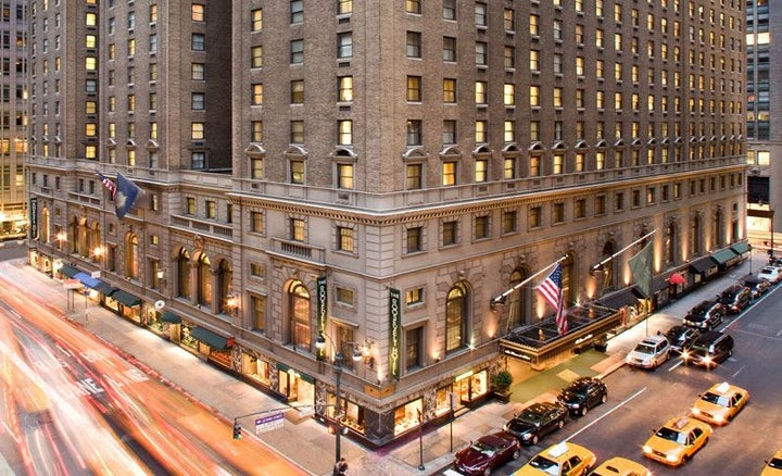 Roosevelt Hotel in New York, New York, USA