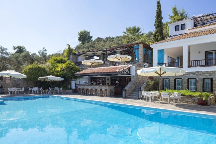 Aegean Suites Hotel in Megali Ammos, Skiathos, Greek Islands