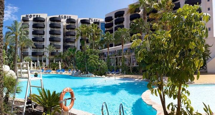 Albir playa hotel spa in albir spain holidays from 287pp loveholidays for Swimming pool repairs costa blanca