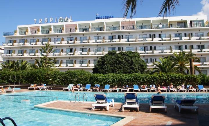 Hotel Tropical in San Antonio, Ibiza, Balearic Islands