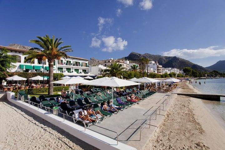 Sis Pins Hotel in Puerto Pollensa, Majorca, Balearic Islands
