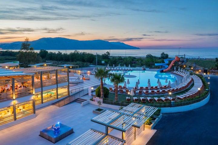 Georgioupolis Resort and Aqua Park in Georgioupolis, Crete, Greek Islands