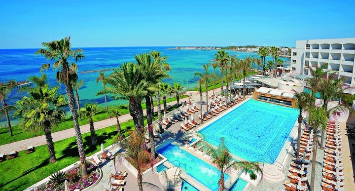 Alexander The Great Beach Hotel Paphos Map