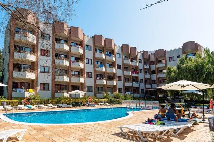 Las Mariposas Apartments in Lloret de Mar, Costa Brava, Spain