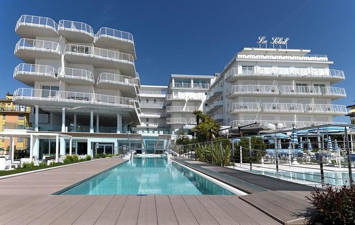 Le Soleil Hotel in Lido di Jesolo, Venetian Riviera, Italy