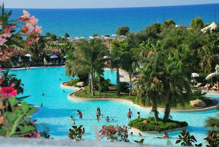 Acacia Resort in Cefalu, Sicily, Italy