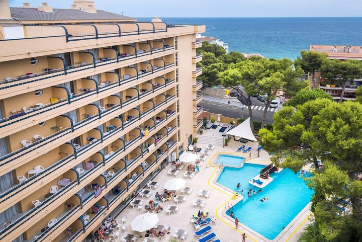 4R Playa Park in Salou, Costa Dorada, Spain