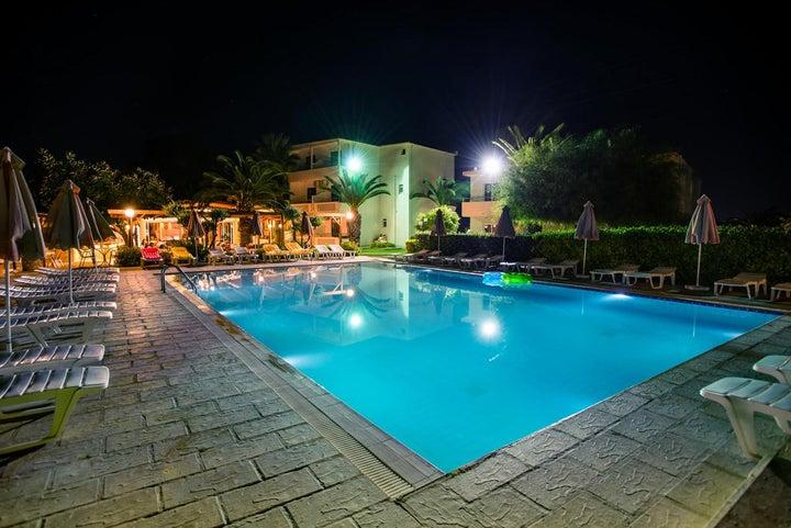 Meliton Hotel in Theologos, Rhodes, Greek Islands
