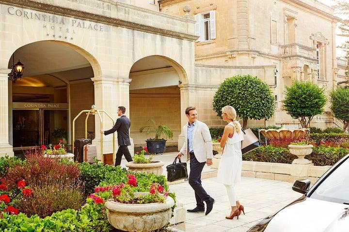 Corinthia Palace Hotel & Spa in Attard, Malta